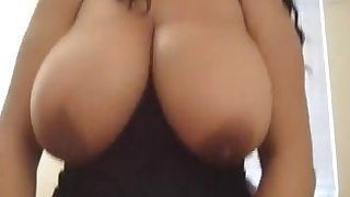 Black bbw pov white cock